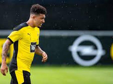 Latest on Manchester United: Sancho Deal is Imminent.