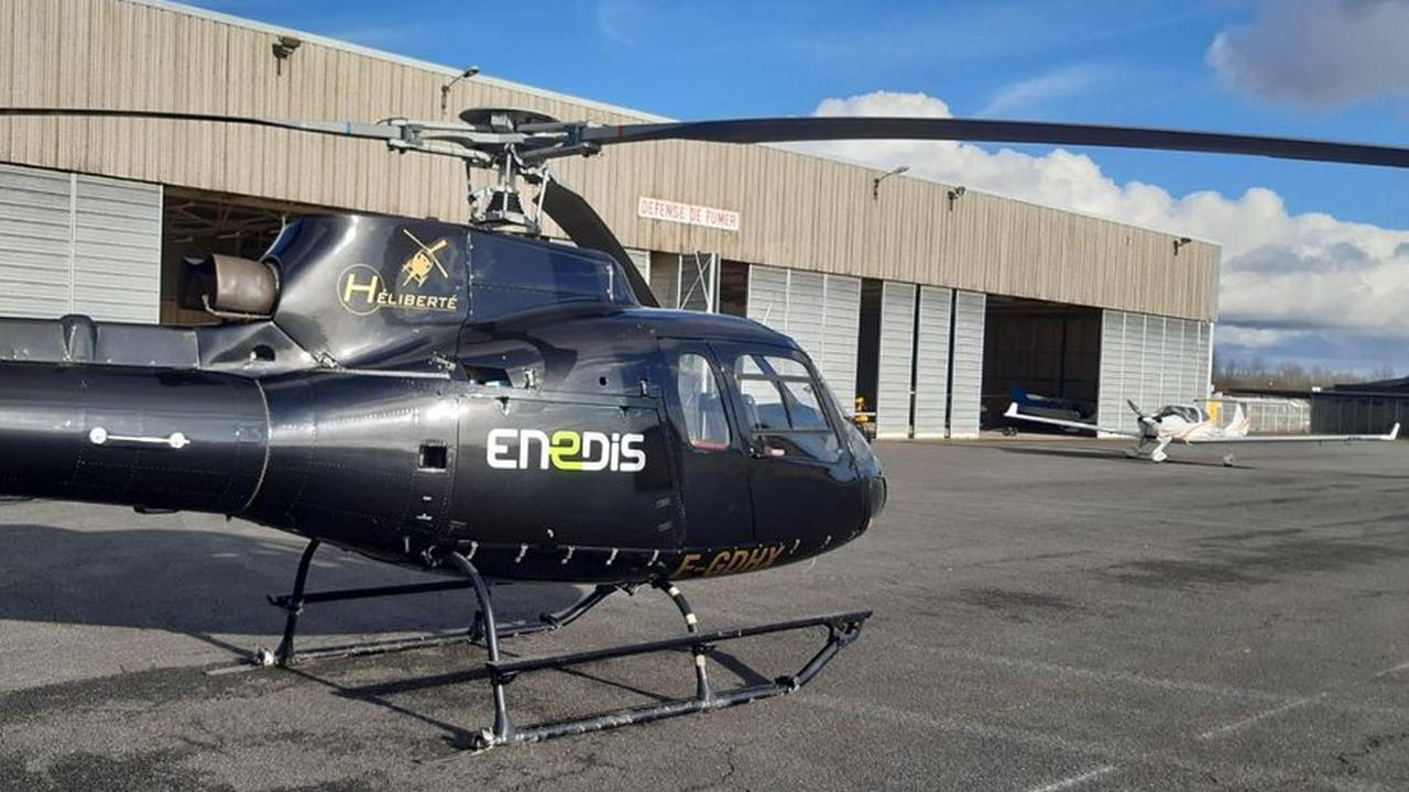 Aveyron : des survols en hélicoptère à basse altitude pour contrôler le réseau électrique