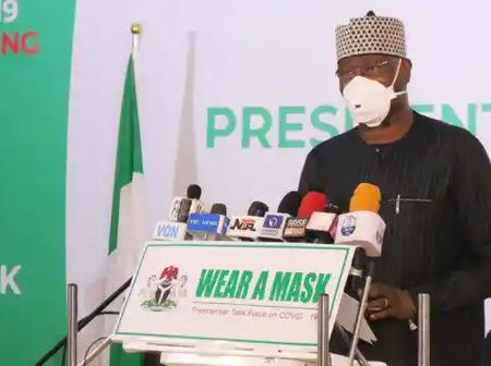This is What We're Doing to Eradicate COVID-19 Pandemic in Nigeria - FG Reveals, Decries Low Testing
