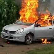 Find out why this man burns his wife's car
