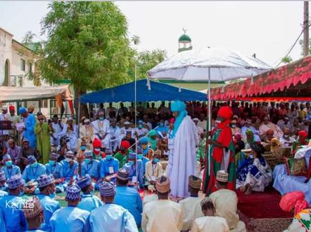 9 Photos: Emir of Kano, Alhaji Aminu Ado Bayero Attends Quranic Graduation in Kano.