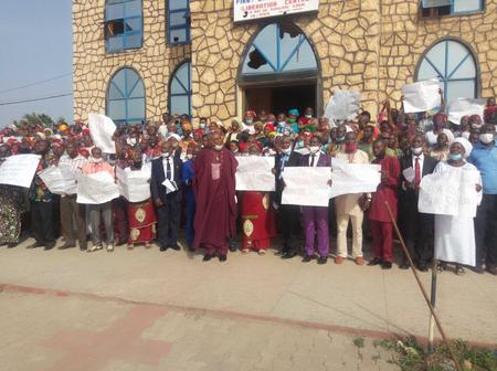 O to ge: Give Us Back Our Schools, Kwara Baptist Conference Protests Against Abdulrahman