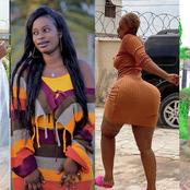 Forget Hajia Bintu, Beautiful Actress With Fat 'Bum' Then Hers Goes Viral With Eye-popping Photos