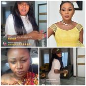 Nsawam Will Humble you - Afia Schwarzenegger Indirectly Trolls Akuapem Poloo On Her Instagram Live.