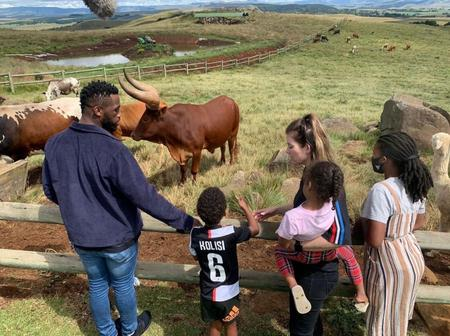 Springbok captain, Siya Kolisi left fans in stitches with his recent post with his beautiful family.