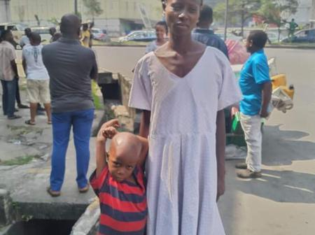 Lady Cries Out After Losing Her 2-Year-Old Baby And Properties To A Raging Inferno In Port Harcourt.