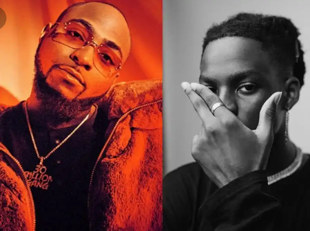 King of ravers- Davido Reacts to Rema's comment to his hit song, fall on Twitter