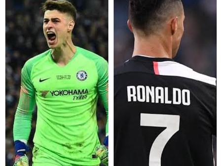 Fans React After Kepa Kept A Clean Sheet Against Ronaldo