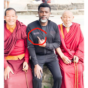 Have You Ever Wondered Why Reno Omokri Usually Point At His Chest In Pictures? See The Reason