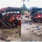 Drame au Ghana : 16 passagers cruellement décédés dans un grave accident impliquant 2 bus VIP