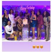 How Dorathy, Adesua, Others Stormed Sharon Ooja's 30th Birthday Party