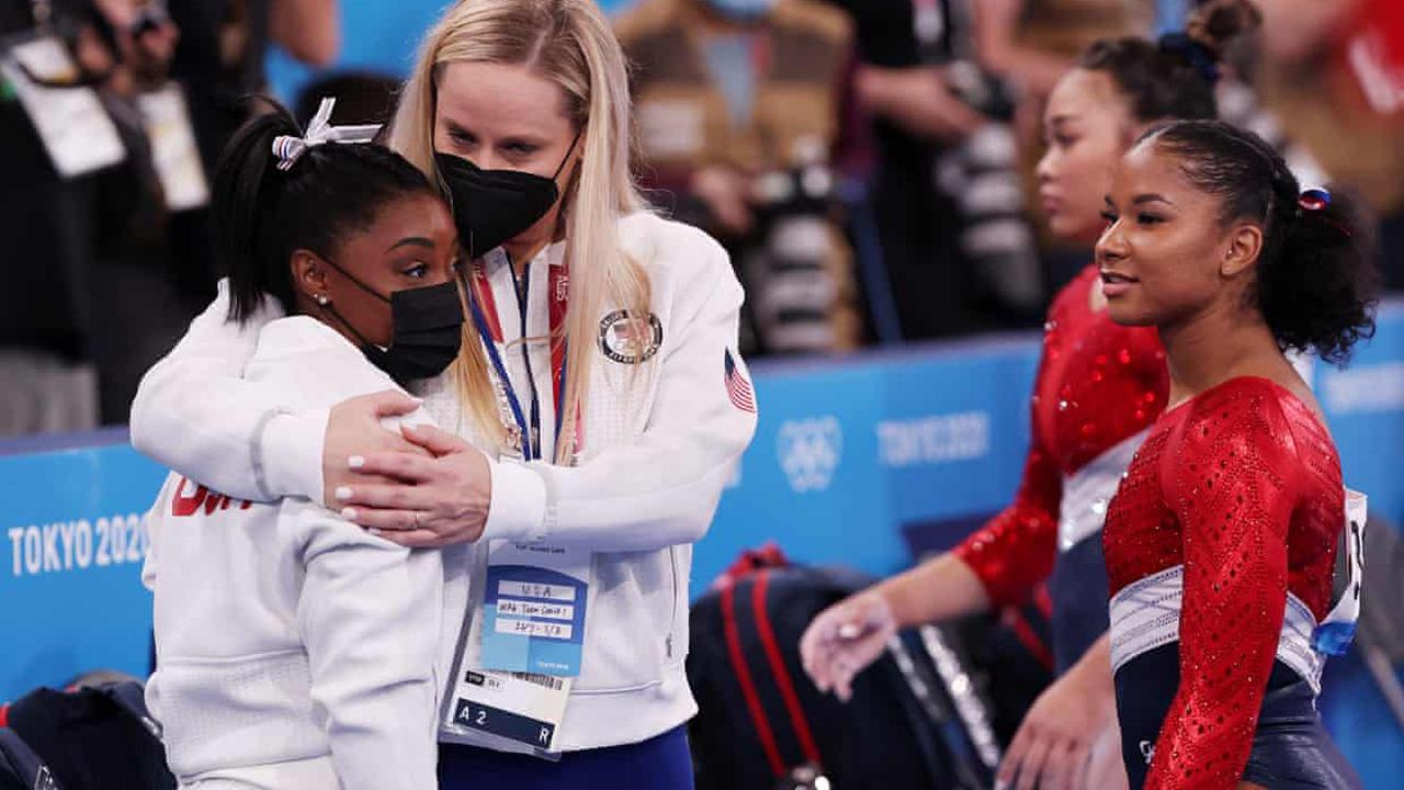 Simone Biles exits women's Olympic team gymnastics final with 'medical issue'