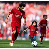 Cute photos of Mohamed Salah and his Daughter