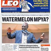 The Kenyan daily Newspapers headlines