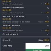 7 Sure Late-Night Football Matches With Boosted Odds