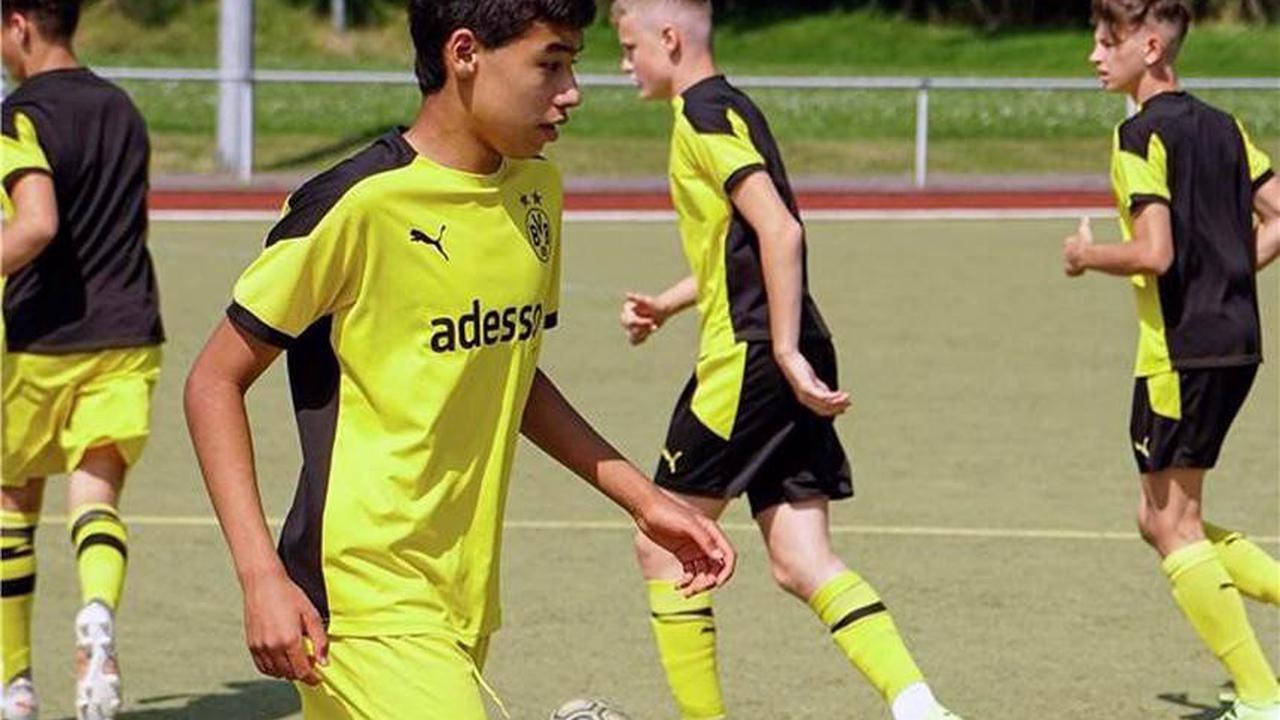 RN+ Der VfB Westhofen war drei Tage lang der Gastgeber von Borussia Dortmund