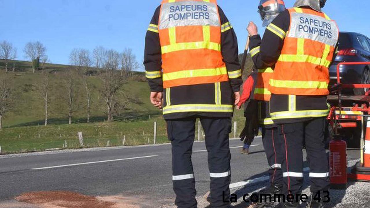 Plusieurs accidents sur les routes mouillées en Haute-Loire - La Commère 43