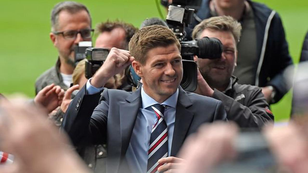 Rangers boss Steven Gerrard thanked for sending record shooting up the charts