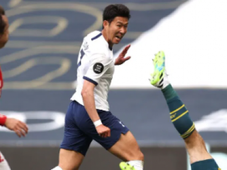 North london club Tottenham finalize details of Son Heung-min contract extension