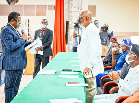 Photos: Akeredolu Assigns Portfolios To New Commissioners