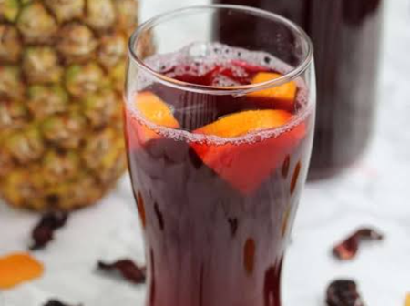Learn how to make Zobo drink for your parties