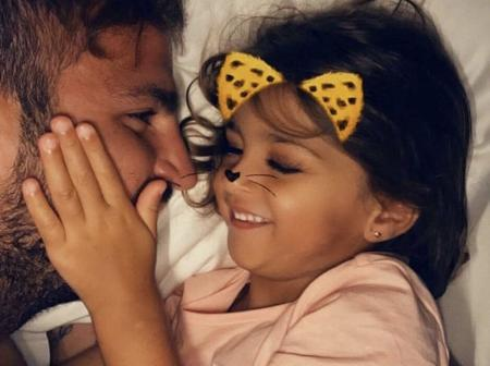 Former Chelsea and Arsenal player shares lovely photos of himself and his daughter on her birthday