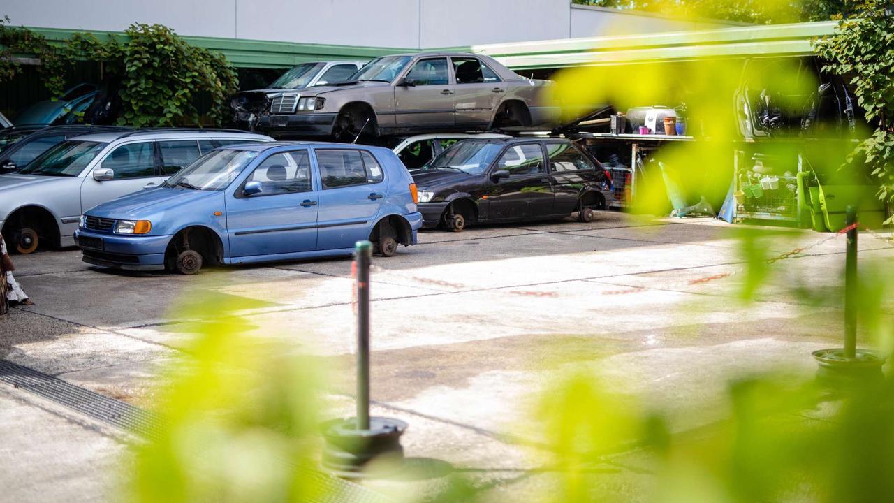 Teure Sportwagen verrotten auf chinesischem Autofriedhof | Wirtschaft