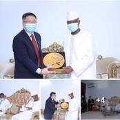 En marge de la campagne, le PAN a reçu une délégation d'hommes d'affaires chinois à Séguéla