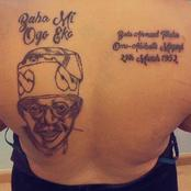 """Most Igbo Who Hate Tinubu Will Not Make Heaven"" - Reactions After Lady Drew Tattoo Of Tinubu"