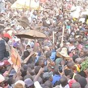 Thousands Of People Turn Out To Welcome DP Ruto In Trans Nzoia County