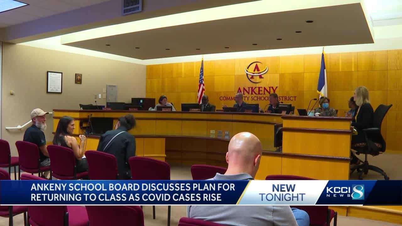 Mask debate reignited at Ankeny's special school board meeting