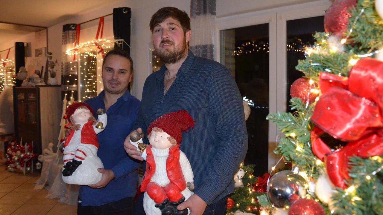 La Maison du père Noël de Wittes vend ses décorations