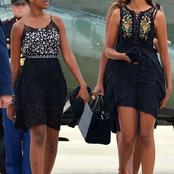 Barack Obama's Daughters With Their Unique dressing styles. (PHOTOS)