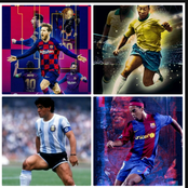 Top 6 Most Skilled Footballers Of All Time, Ronaldinho Is No3, Who Is No1?