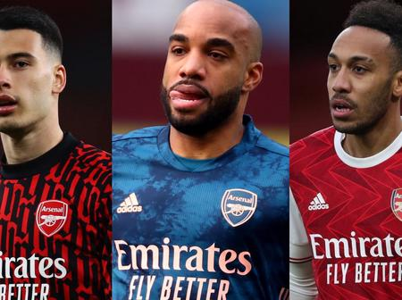 Opinion:Between Aubameyang, Martinelli And Lacazette, Who Should Play The Centre Striker Role Today?
