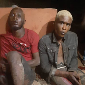 Two robbers who belong to cult group arrested with injuries after gun battle with policemen