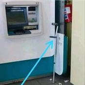 Look What Was Spotted Standing Next To This ATM