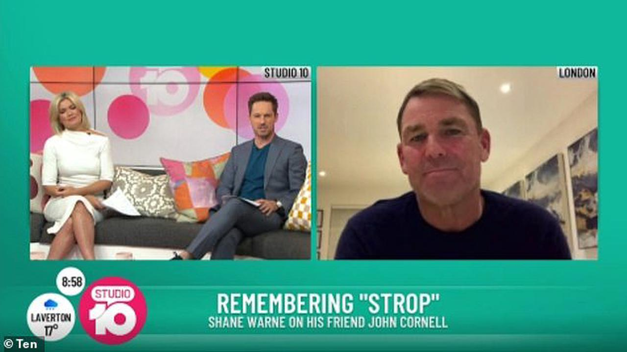 'It's been a bloody sad time': Shane Warne shares his heartache after the deaths of THREE of his close friends
