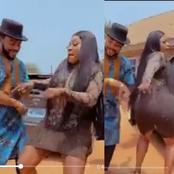 Watch Out How Destiny Etiko Danced With Actor Maleek Milton (Video)