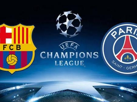 UCL: Good News For Barcelona Ahead Of PSG Game Next Week Tuesday
