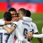 Real Madrid Broke 47 Years Record After 2-1 Win Against Barcelona