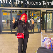 Fast Rising Yoruba Actress, Bukola Olatunji Just Arrived In London
