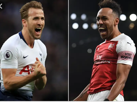 OPINION: Aubamenyang Is Much Better Than Harry Kane As He Will Guide Arsenal To Winning The League