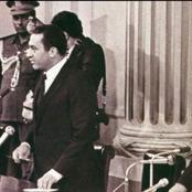 بعد وفاة زوجته اليوم .. رئيس الجمهورية الراحل الذي حكم مصر بعد اغتيال السادات (صوفي ابوطالب)