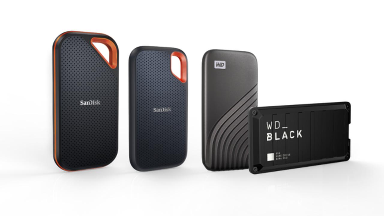 Western Digital dévoile des disques SSD avec 4 To de stockage