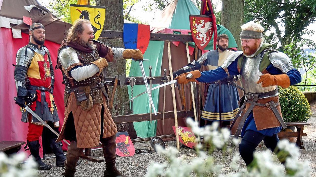 Mittelalter erwacht auf Burg Blankenstein in Hattingen