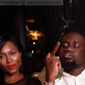 Ghanaians React To The Simple Way Sarkodie Wished His Wife A Happy Birthday