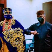 Oluwo Of Iwo Celebrates Osinbajo On His 64th Birthday Today, Check Out Their Photos
