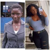 Checkout these pictures of Nigerians before and after they left the country