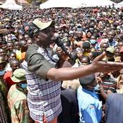 'Nitaandika Noise Makers Hapo'- Ruto Forced To Intervene To Settle Noisy Mammoth Crowd